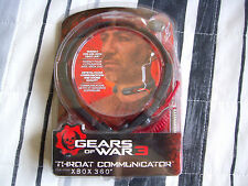 Gears of War 3 - Headset - Auriculares - Throat Communicator - Oficial - Nuevo!!