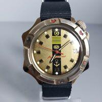 Wrist watch Vostok Komandirskie Admiralskie Soviet Men's / Serviced