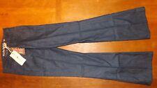 MIH Jeans Ladies Dk Indigo Marrakesh Resin Kick Flare Jeans Size 29 (£180) New