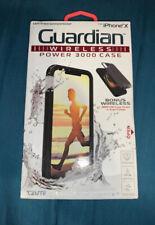 iPhone X Waterproof Case & Guardian Power 3000 PowerBank Case Combo by Tzumi
