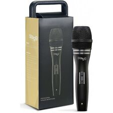 Stagg SDM90 Professional Metal Dynamic Vocal Microphone