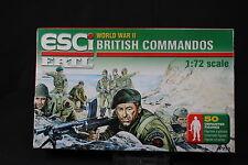YB072 ESCI 1/72 maquette figurine P-210 British Commandos WWII