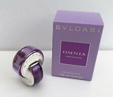 Bvlgari Omnia Amethyste Eau de Toilette mini Perfume, 5ml, Brand New in Box!