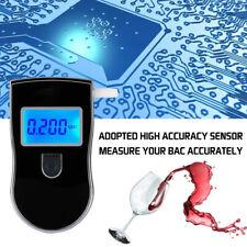 Digital Police Lcd Breath Alcohol Tester Personal Breathalyzer Detector Meter Us