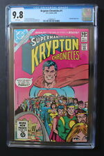 KRYPTON CHRONICLES Limited Series #1 Superman Roots 1981 SYFY Channel TV CGC 9.8