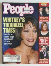 APR 17, 2000 People Weekly Whitney Houston Troubled Times / Rudy Galindo Battle