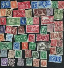 Great Britain - Packet of 50+ postage stamps - all different - no dups - B8652