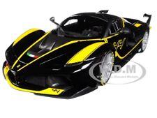FERRARI FXX-K #44 BLACK SIGNATURE SERIES 1/18 DIECAST MODEL CAR BY BBURAGO 16907