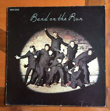 Wings : Band On The Run lp album + Poster