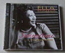 2 CD : ELLA FITZGERALD 'Summertime - 40 Greatest Hits'  - neu!!