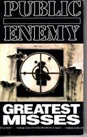 Public Enemy Greatest Misses 1992 Cassette Tape Album Hiphop Rap Bomb Squad
