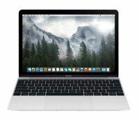 "Apple Macbook Core M3 1.2GHz 8GB RAM 256GB SSD 12"" Silver MNYH2LL/A (2017)"