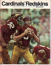 1968 (Oct. 20) NFL Football Program, Washington Redskins @ St. Louis Cardinals