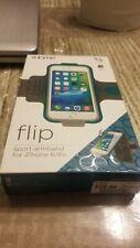 iHome-Flip-Sport-Armband-for-iPhone-6-6s-Flip-up-Credit-Card-Pocket-Pink/Red