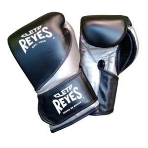 Cleto Reyes Präzision Boxhandschuhe Erwachsene Training Silber Sparring
