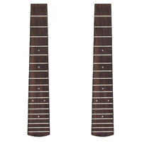 Tenor Ukulele Fretboard for 26 Inch Hawaii Guitar Parts 18 Fret 2 Pcs