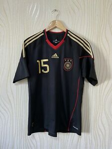 GERMANY 2010 2011 AWAY FOOTBALL SHIRT SOCCER JERSEY ADIDAS P41462 TROCHOWSKI #15
