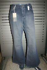 Mavi Jeans Ladies 10399-221 Bell Bottom Dark Stone 100% Cotton Vintage 90er