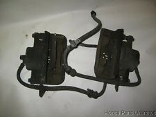 88 89 90 91 Honda Prelude OEM FRONT brake calipers w/ brackets x2 with ABS