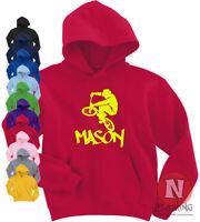 BMX personalised hoodie kids Adults top stunts tricks bike Hoody add your name