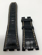 Authentic Audemars Piguet Black Alligator Strap 28MM