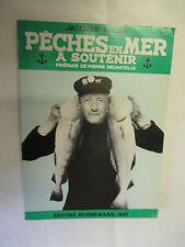 """Jacques Elluin """"Pêches en Mer à Soutenir"""" /Bornemann 1966"""