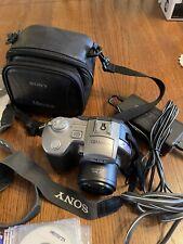 Sony Mavica MVC-CD400 4.0MP Digital Camera - Black Silver