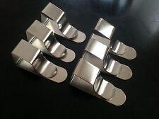 6 British steel tavolo da disegno/Tovaglia/da tavolo/CAVALLETTO Clip gratuita di Royal Mail post