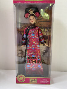 PRINCESS OF CHINA BARBIE DOTW DOLLS OF THE WORLD MATTEL 53368