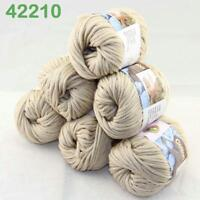 Sale New 6Skeinsx50g Soft Worsted Cotton Chunky Hand Knitting Baby Quick Yarn 10