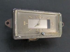 Original 1941 Packard Dash Clock