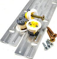 CLEAT STRIPS 450mm Z BAR HANGERS PICTURE MIRROR + GRIPIT® PLASTERBOARD FIXINGS