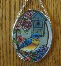 "Amia Studios Suncatcher #40044 BLUEBIRD, NEW/Box From Retail Store,4.5"" x 3.25"""