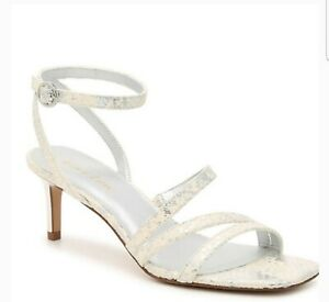 ESSEX LANE Womens Sandals NWTSize 8.5 M Silver color