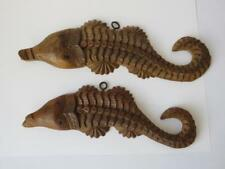 Antique Carved Wooden Crocodiles - Tribal Art - Wall Art - Wall Hangings