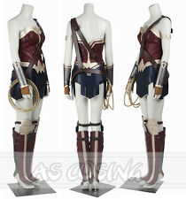 Batman v Superman Dawn of Justice  League Wonder Woman Cosplay Costume Halloween