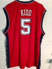 Adidas NBA Jersey New Jersey Nets Jason Kidd Red sz XL
