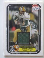 BRETT FAVRE 2004 Fleer Platinum GU JERSEY Card 99 #747/765 GREEN BAY PACKERS