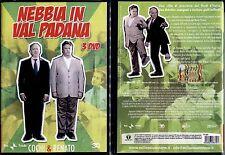 NEBBIA IN VAL PADANA (Cochi & Renato) - 3 DVD BOX NUOVO E SIGILLATO, UNICO, RARO
