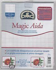 DC37MG Blanc - Pack of DMC Magic Guide 18ct White Aida 35cm x 45cm
