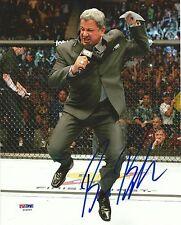 Bruce Buffer Signed UFC 8x10 Photo PSA/DNA COA Picture Octagon Announcer Auto'd