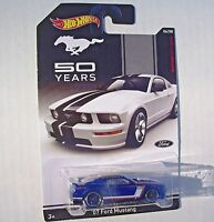 Hot Wheels MUSTANG 50 YEARS '07 Ford Mustang 6/8 - NEW SEALED Blister Pack!