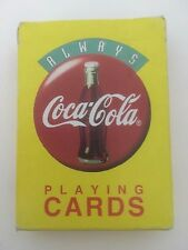 ALWAYS COCA-COLA PLAYING CARDS PROMOTIONAL DECK OF 52 PLAYING CARDS COLLECTIBLE
