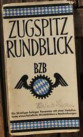 28538 Führer Panorama Mapa de País Zugspitze Rundblick Bzb Cuadro en Relieve +