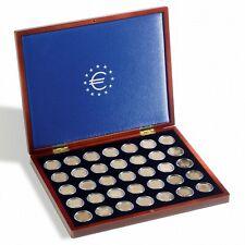 Coffret Numismatique VOLTERRA UNO de Luxe, Pour 35 Pièces de 2€