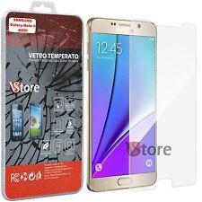 """2 Pellicola in Vetro Temperato per Samsung Galaxy Note 5 SN920 Schermo 5,7"""""""