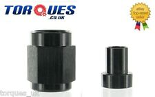 "AN -3 (AN3 3/8"" UNF 3AN ) 3/16"" Hardline Tube Nut and Sleeve In Black"