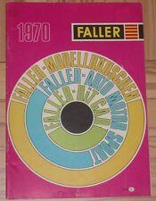 per Faller Modellismo Anno Catalogo 1970 - Lingua Olandese