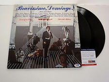 PLACIDO DOMINGO THREE TENORS SIGNED BRAVISSIMO VINYL RECORD ALBUM PSA/DNA COA
