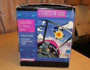 KENSIKO SYSTEMS Flightstick 2000 Deluxe Joystick IBM 15-Pin Connector